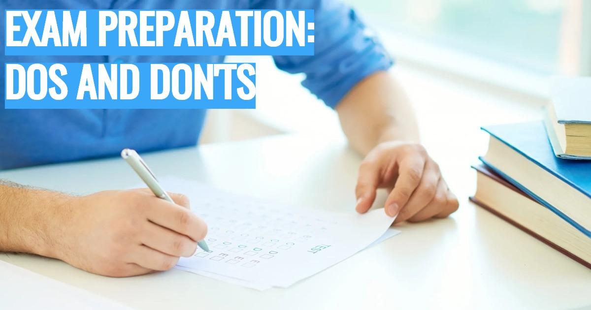 Что нужно делать и чего не следует при подготовке к сдаче международного экзамена