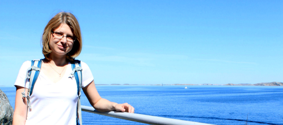 Studying in Sweden on a scholarship. The story of Alena Seredko